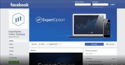 Đánh giá về ExpertOption trên Trang Facebook