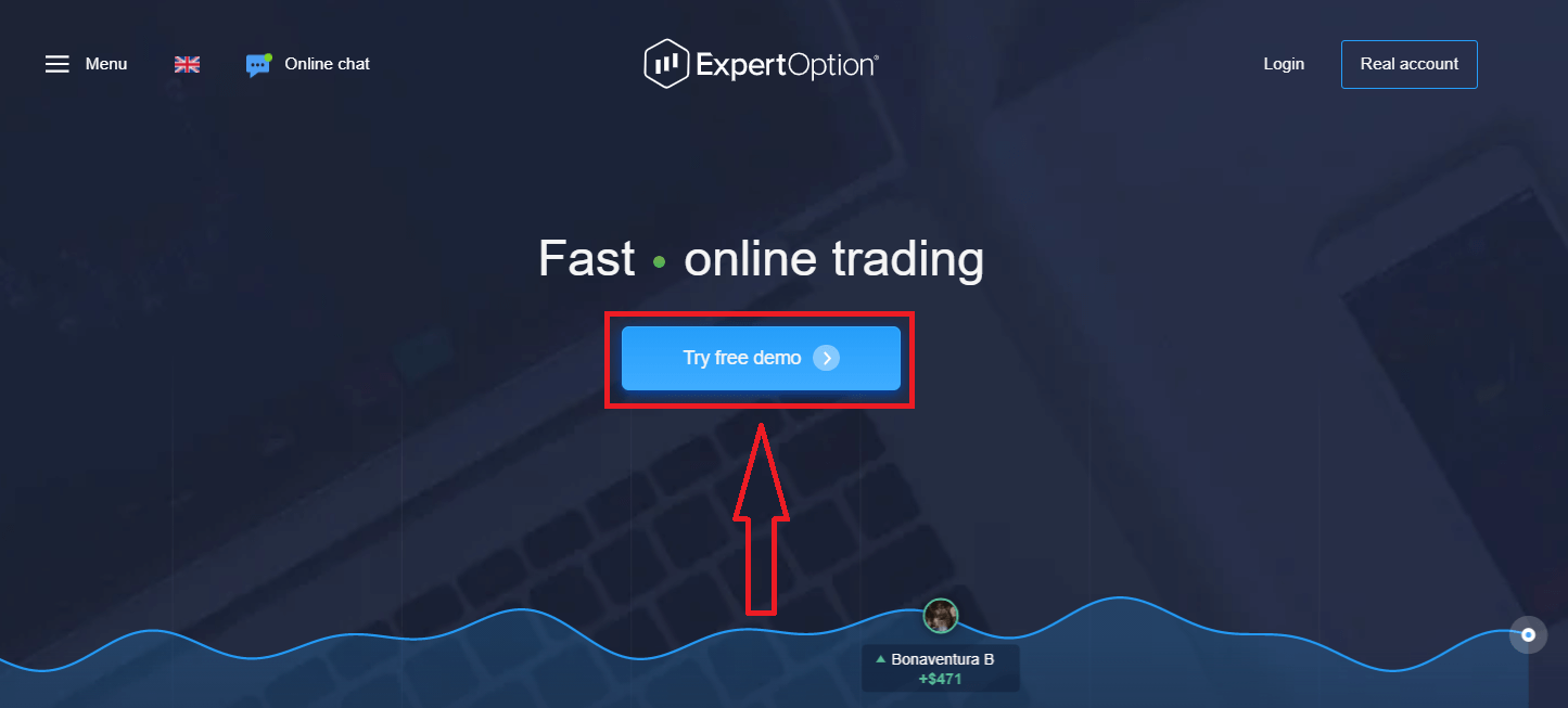 How to Create an Account and Register with ExpertOption
