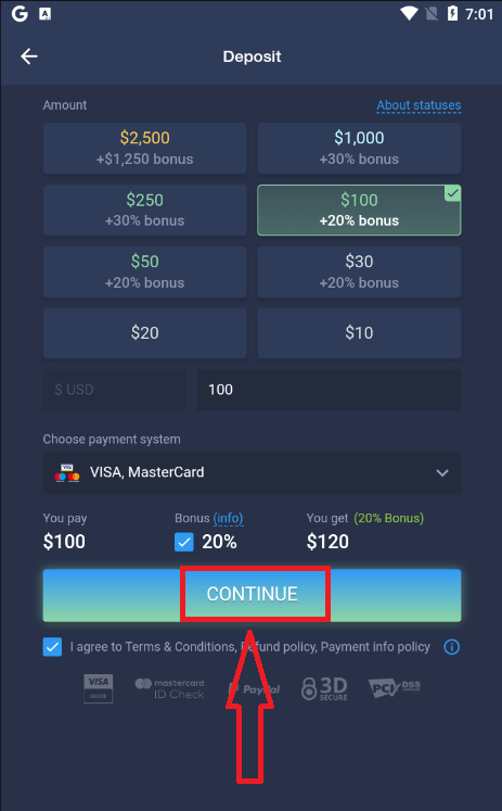 How to Sign Up and Deposit Money at ExpertOption